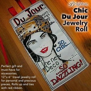 Brighton Jewelry Roll~Chic Du Jour (NWT)